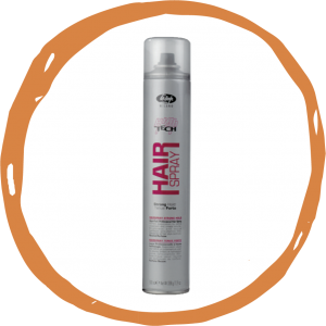 Hair spray / No gas Geeft volume, versteviging en glans en een strong hold voor sterke houdbaarheid. Inhoud Spray strong hold: Bus 500 ml of 300 ml